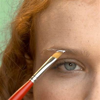 Ombre Eyebrows Brows Tutorial Purple Cream Entry