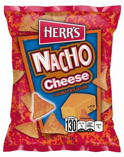 Nacho Cheese Tortilla Chips Herrs Chip Herr