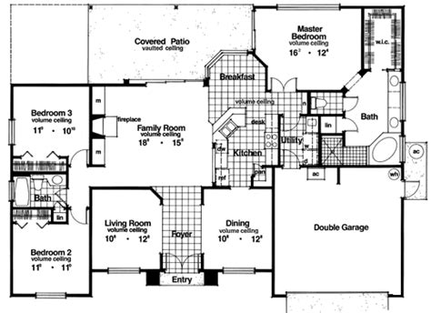 big houses floor plans inverness 3948 3 bedrooms and 2 5 baths the house