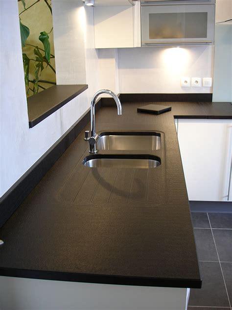 plan de travail en marbre pour cuisine intérieur granit plan de travail en granit noir