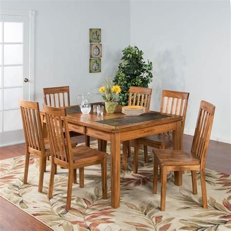 Sedona Slate Top Extension Dining Room Set Sunny Designs