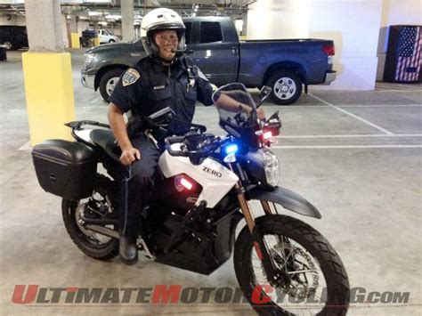 Zero Ds Electric Motorcycle Chosen By San Mateo Police