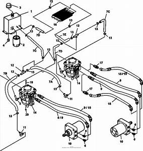 Bunton  Bobcat  Ryan 942254f Procat 29hp Kaw W  61 Side Discharge Parts Diagram For Air Cooled