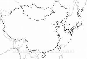 Blank Map Of East Asia - besttabletfor.me