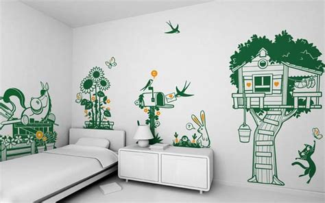 Wall Decal Decorating Ideas For Children's Rooms