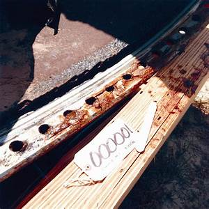 STS-51-L Recovered Debris (O-Ring Tracks on Right SRB ...
