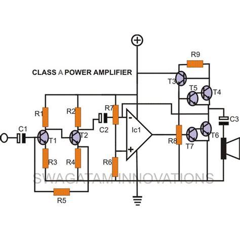 diy class  amplifier simple construction