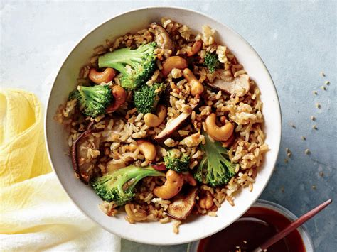 Light Cooking Recipes by Nutty Fried Rice Recipe Cooking Light