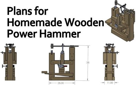 wooden power hammer plans