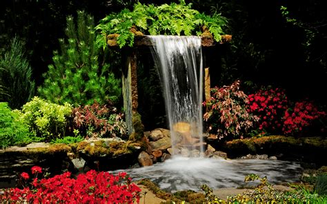 indoor waterfall by voyager01 on deviantart