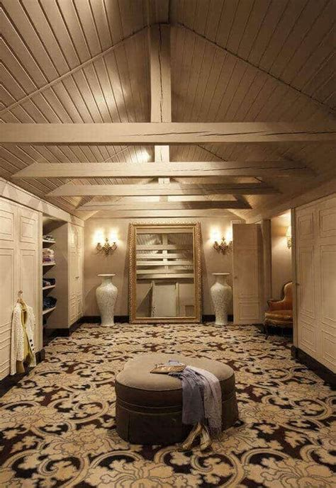 examples  attic closet design ideas