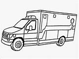 Ambulance Coloring Printable Drawing Realistic Template Vehicle Hospital Truck Clipart Sketch Getdrawings Driver Templates Clipartmag Call Library Popular sketch template