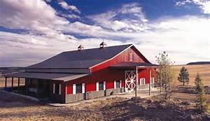 Equestrian buildings simple or elaborate for Barn builders colorado
