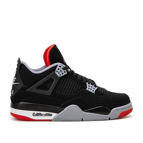 Nike Air Jordan 4 Retro Black Cement In Black For Men Lyst