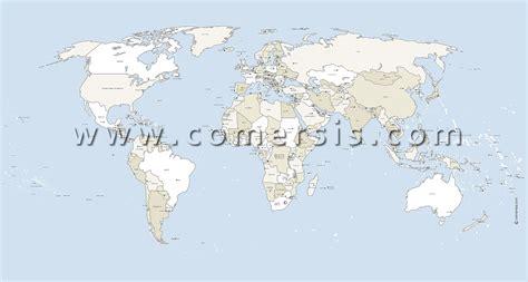 Carte Du Monde Avec Capitales Pdf by Cartes Monde