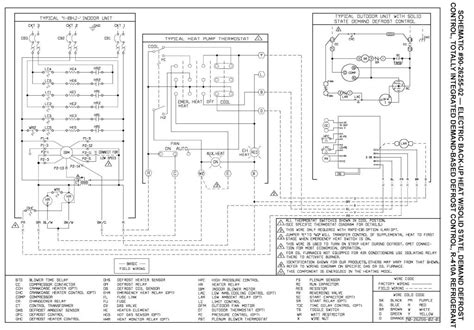 carrier wiring diagram heat pump wiring diagram and