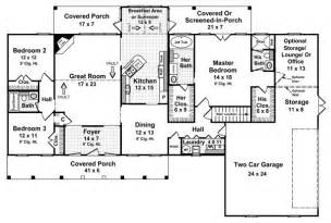 4 bedroom 4 bath house plans the all american 5878 3 bedrooms and 3 5 baths the house designers