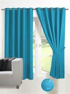 energy saving thermal blackout eyelet curtains teal