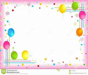 Birthday Party Border Clipart (40+)
