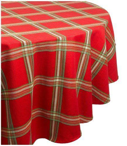 tablecloth lenox holiday gathering plaid
