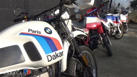 How The Off-road Dakar Racing Motorcycle Evolved
