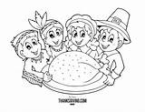 Thanksgiving Coloring Pages Printable Turkey Fun Activities History Printables Fall Holiday sketch template