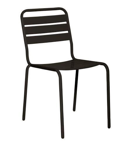 chaise design metal noir best table et chaise de jardin metal ideas bikeparty us