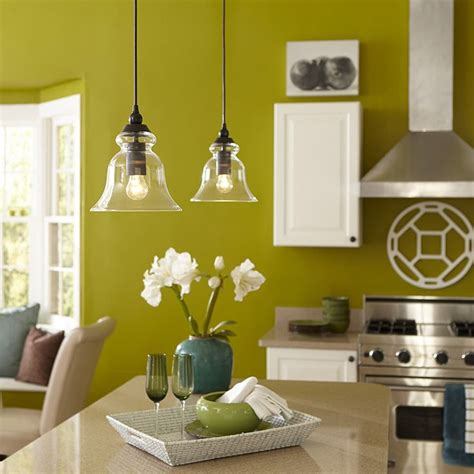 lowes kitchen lights shop allen roth 8 in w bronze standard mini pendant 3882
