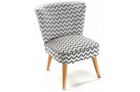 fauteuil crapaud zigzag blanc et gris allan fauteuil