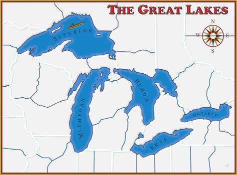 the great lakes are found in both canada and united states