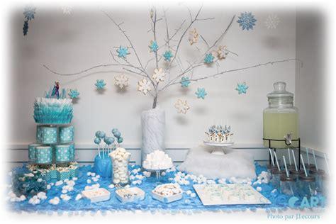 table sucree pour la reine des neiges wooloo