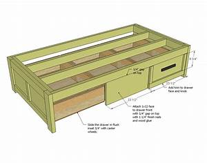 diy platform queen bed with drawers Quick Woodworking