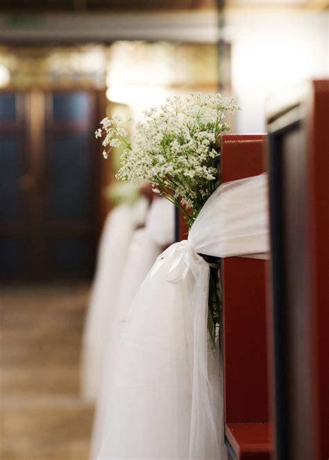 Simple Wedding Church Decor The Norwegian Diy Wedding