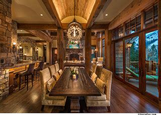Squaw Valley Residence  Rustic  Dining Room Other
