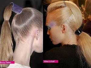 Coiffure Queue De Cheval : queue de cheval les coiffures printemps t 2010 de ~ Melissatoandfro.com Idées de Décoration