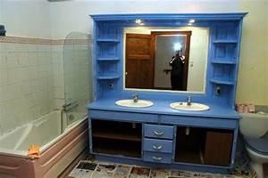 Commode Salle De Bain Ikea : meuble de salle de bain diy ~ Teatrodelosmanantiales.com Idées de Décoration