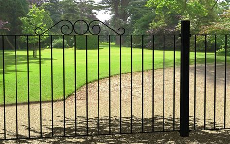 fence panel metal fence metal garden fence galvanised fence