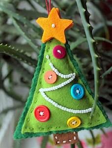 Weihnachtskugeln Selbst Gestalten : weihnachtskugeln selber machen filztanne textil ~ Lizthompson.info Haus und Dekorationen