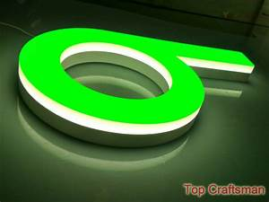 led letter sign acrylic led channel letter outdoor With acrylic letters with led