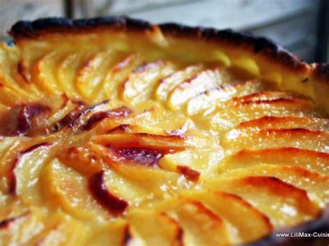 cuisine tarte aux pommes recettes de tarte aux pommes de lilimax cuisine