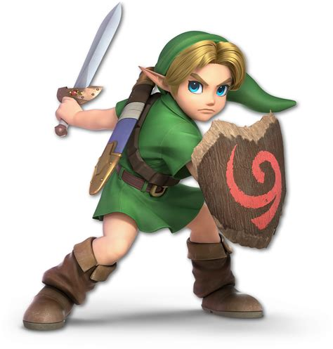Image Ssb Ultimate Young Link Renderpng Wikitroid