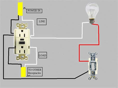 light switch controls wall outlet lighting  ceiling fans