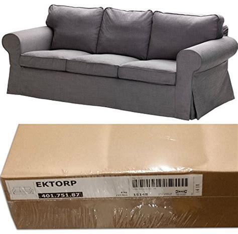 ikea ektorp  seat sofa slipcover svanby gray cover