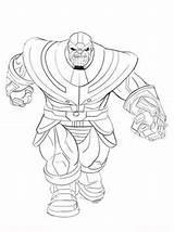 Thanos Coloring Ausmalbilder Pages Fun Brawl Stars Von sketch template