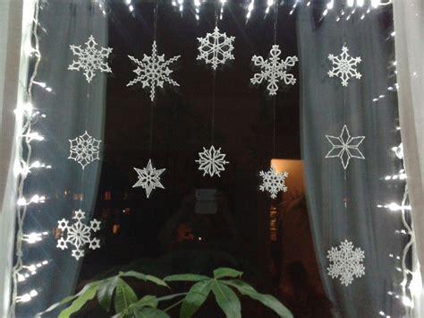 Weihnachtsdeko Fenster Schneeflocke schneeflocken geh 228 kelt weihnachtsdeko f 252 r fenster mein