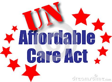 affordable care act stock illustration image