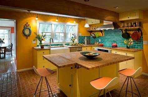 cuisine coloré un tabouret de bar coloré pour la cuisine moderne