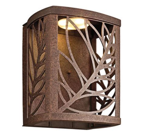 kichler 49251 tropical safari single light led medium