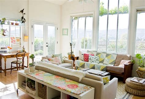 farmhouse living room farmhouse style interiors ideas inspirations Colorful