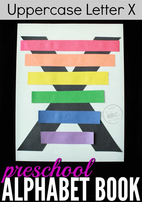 show and tell letter x preschool alphabet book uppercase letter x from abcs to 45355